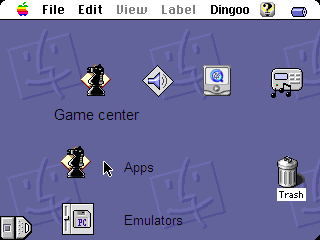 Mac OS 9 theme | Dingoonity org - The Dingoo Community